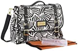 Cocalo Couture Riley Crossbody Diaper Bag, Zebrabot