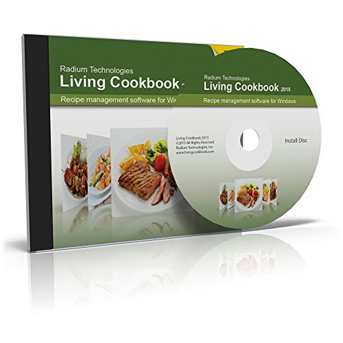 Living Cookbook 2015 (for Windows 8 / Windows 7 / Windows Vista / Windows XP SP3) (Make Cookbook compare prices)