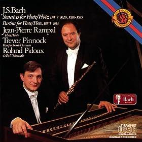 Bach: Flute Partita & Sonatas