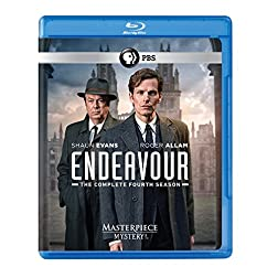 Masterpiece Mystery!: Endeavour Season 4 (UK- Length Edition) Blu-ray [Blu-ray]