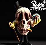 Rockin'Jelly Bean Freaky Monster Village series Mr.DEATH 2nd color Ver. ロッキンジェリービーン ソフビ