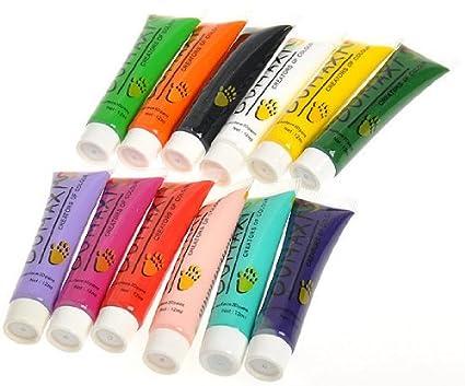 Paint Colors Thailand 12 Colors 3d Nail Art Paint