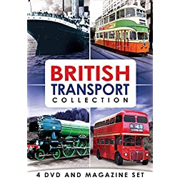 British Transport Collection - 4 DVD & Bookazine BOXSET