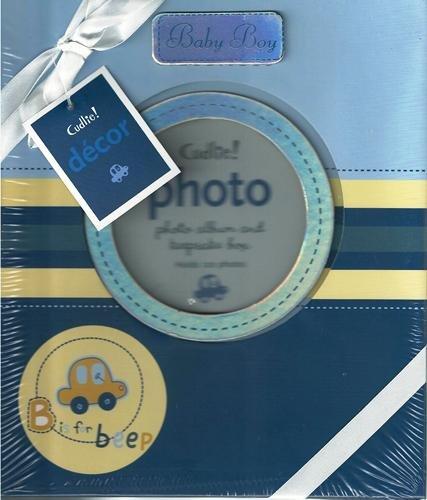 "9½"" Baby Boy Photo Album & Keepsake Box"