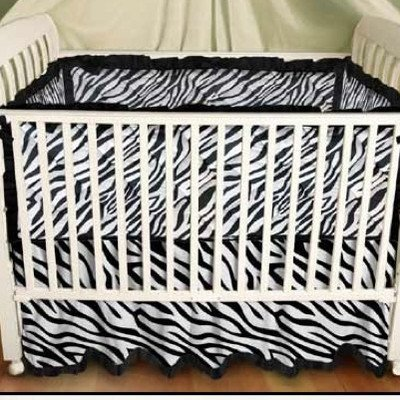 Black And White Crib Sheets front-31952