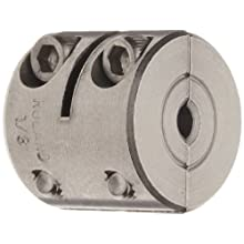 Ruland MWC Clamping Beam Coupling, Stainless Steel, Metric