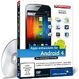 Apps entwickeln für Android 4 (PC+MAC+Linux)