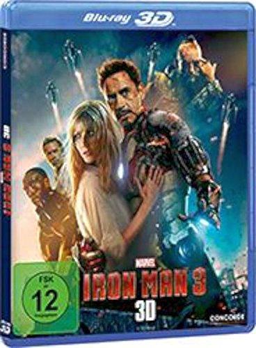 Iron Man 3 (+ 2D-Version) [Blu-ray 3D]