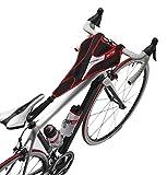 Elite PROTEC Accessoires pour Home Trainer à rouleaux Serviette anti transpirante rouge