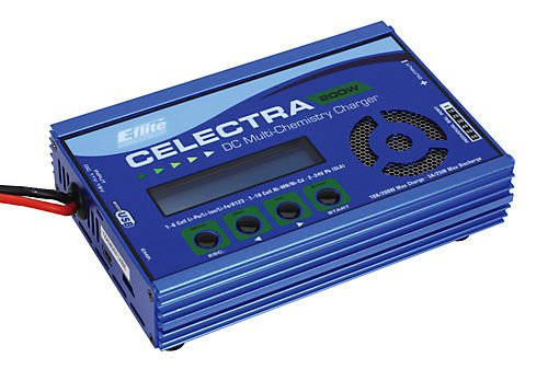 E-Flite Celectra 200W DC Multi-Chemistry Battery Charger