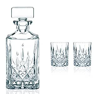 Nachtmann Noblesse Whisky Set Decanter & Tumblers - 3tlg.