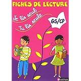 Je lis seul, tu lis seule... : Fiches de lecture GS/CPpar V�ronique Calle