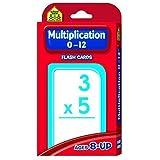 School Zone Publishing Multiplication 0 12 Flash Cards (Set Of 6)