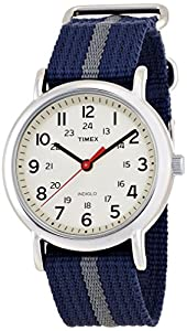 Timex Originals Watch with Cream Dial and Grey Nylon Strap - T2N654PF