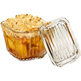 Anchor Hocking Bake and Store Dish with Glass Lid, 2 Cup