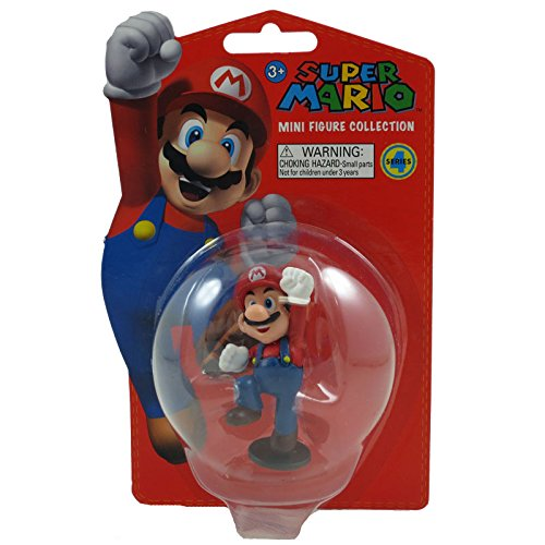 Popco Super Mario Brothers Series 4 Vinyl Mini Figure Mario - 1