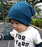 GOYESTORE(TM) Fashion Cute boy girl Trendy Baby Toddler child Hat Knit Beanie Warm Winter cap (Blue)