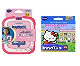 Childrens Vtech Innotab Software & Accessory Christmas Gift Bundle 2 Items: V Tech Innotab 3 Pink Gel Skin & Hello Kitty Software