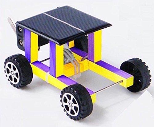 The Wood Solar Powered Toy Car Kit 11 5 X 9 X 6 3 Cm A