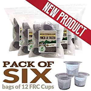 Guatemala Antigua Finca La Tacita, 72 ct. FRC Cups for Keurig K-Cup Brewers, Fresh Roasted Coffee LLC (72 count)