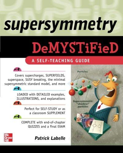 Supersymmetry DeMYSTiFied (Informatica)