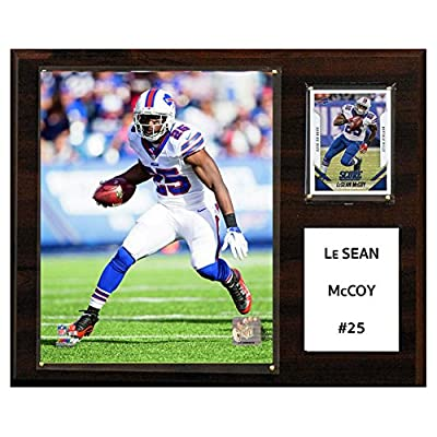 C and I Collectables NFL 15W x 12H in. LeSean McCoy Buffalo Bills Player Plaque