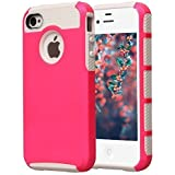 iPhone 4 Case, iPhone 4S Case, BAROX Fashion Cute Armor Case for iPhone 4 4S