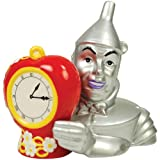 Westland Giftware The Wizard Of Oz Magnetic Tin Man And Heart Clock Salt And Pepper Shaker Set, 3-1/2-Inch