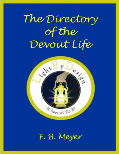 The Directory Of The Devout PDF
