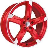 1 x Rondell Z Design 01RZ in 7,5 x 17 ET 35 LZ/LK 5 x 112 Farbe Racing Rot, poliert für Skoda Octavia (II) Scout Typ 1Z
