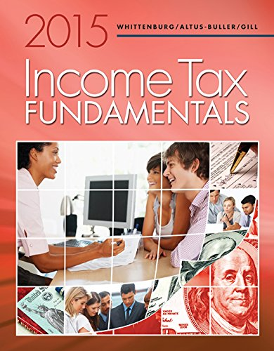 Income Tax Fundamentals 2015 (with H&R Block Premium & Business Software CD-ROM)