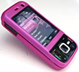 EMARTBUY LCD SCREEN PROTECTOR AND HYBRID PROTECTION CASE/COVER/SKIN FOR NOKIA N85 HOT PINK