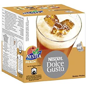 Get Dolce Gusto Nestea Peach 16 Cups from United Kingdom