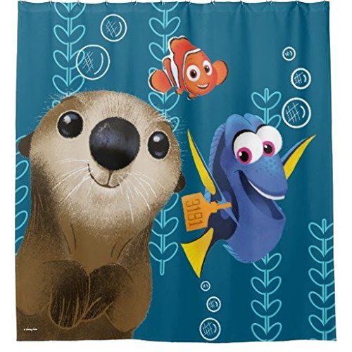 Finding Dory Nemo Dory Otter Shower Curtain 72 X 72 Inch