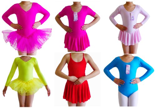 Seawhisper Children Dance Costumes Ballet Leotards Tutu Girls Dresses Skirts