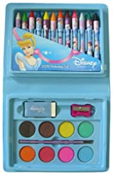 Disney Princess Cinderella 23-Piece Coloring Set