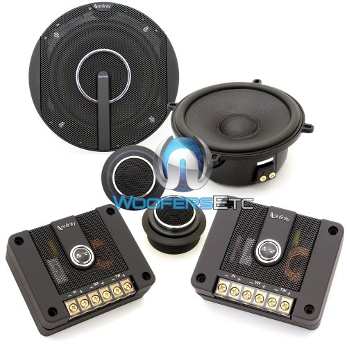 "50.11Cs - Infinity 5.25"" 2-Way Kappa Series Component Car Speakers System"