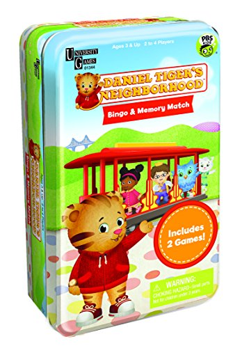 Daniel Tiger's Neighborhood Bingo & Memory Match Tin - 1