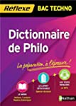 Dictionnaire de Philo - Bac Techno