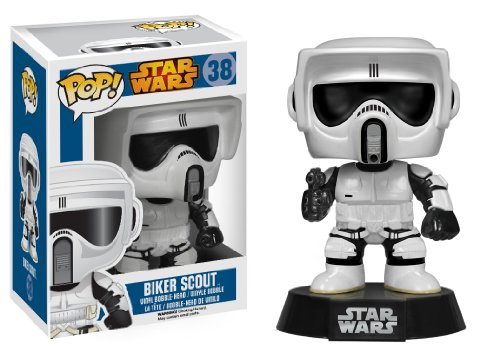 Funko POP Star Wars : Biker Scout Action Figure - 1