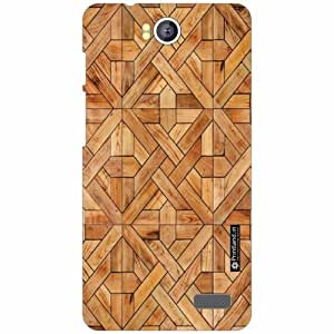 Intex Aqua 4.5E Back Cover - Silicon Wood Designer Cases