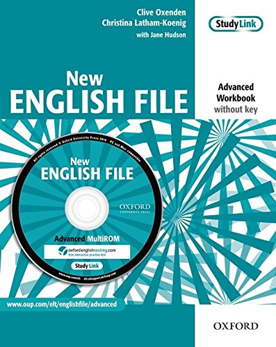 New English File Advanced: Workbook Without Answer Key with Multi-ROM Pack (New English File Second Edition)