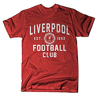 Official Liverpool FC Red Emblem T-Shirt