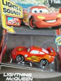 Disney Pixar Cars 2 Lightning McQueen with lights and sounds V5082