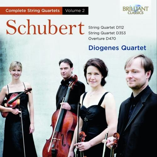 CD : SCHUBERT / DIOGENES QUARTET - String Quartets 2