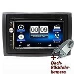 "7"" Highspeed-Navigations-Autoradio Wohnwagen Wohnmobil Caravan Fiat Ducato, Citroen Jumper Relay, Peugeot Boxer von ICARTECH mit Dach-Rückfahrkamera - ultraschneller 1.2 GHz Cortex A9 Prozessor - Lenkradsteuerungsübernahme optional - Externes Mikrofon GRATIS - GPS Navigation + TMC Ready - mit Europakartenmaterial - Premium Bluetooth: Telefonbuch, Freisprecheinrichtung, A2DP Musikstreaming - DVD/CD/USB/SD - DAB+ Digital Radio Ready, DVB-T Digitalfernsehen Ready und DVR Kamera Ready"