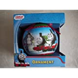 Thomas and Friends Christmas Ball Ornament  red ribbon