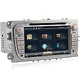 A-Sure-DVD-GPS-Sat-Nav-Autoradio-WIFI-BT-fr-FORD-Galaxy-Mondeo-FOCUS-C-MAX-S-MAX