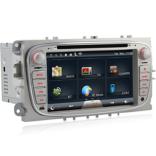 A-Sure-DVD-GPS-Sat-Nav-Autoradio-WIFI-BT-fr-FORD-Galaxy-Mondeo-FOCUS-C-MAX-S-MAX
