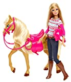 Toy - Barbie and Tawny Horse